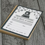 Pack of 10 Grizzly Bear Party Invitations additional 5