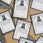 Pack of 10 Grizzly Bear Party Invitations additional 4