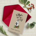 'Gingle All The Way' Non Personalised Christmas Cards - Pack of 10 additional 1