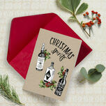 'Christmas Spirits' Non Personalised Christmas Cards - Pack of 10 additional 1