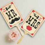Printable 'I'm her Mr, I'm his Mrs' Signs additional 1