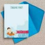 Swimming Themed Thank You Cards additional 1