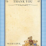 Teddy Bears' Picnic Thank You Cards additional 6