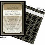 Art Deco Wedding Invitation additional 3