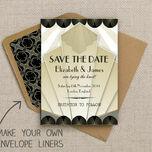 Art Deco Pattern Sheet/Envelope Liner additional 2