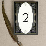 Art Deco Table Number additional 3