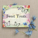 Butterfly Garden Party Sign/Poster additional 2