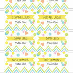 Candy Confetti Escort Cards - Set of 8 additional 2