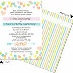 Candy Confetti Wedding Invitation additional 4