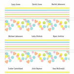 Candy Confetti Place Cards - Set of 9 additional 2