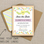 Candy Confetti Pattern Sheet/Envelope Liner additional 2