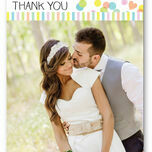 Candy Confetti Thank You Card additional 1