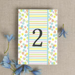 Candy Confetti Table Number additional 2
