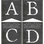 Chalkboard Bunting additional 1
