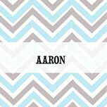 Chevron Name Cards - Set of 9 additional 3