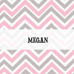 Chevron Name Cards - Set of 9 additional 2