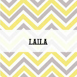 Chevron Name Cards - Set of 9 additional 1