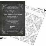 Chalkboard Wedding Invitation additional 2