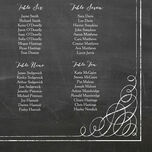 Chalkboard Wedding Seating Plan additional 4