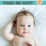 Circus Fun Birth Announcement Card additional 2
