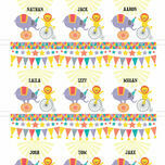 Circus Fun Name Cards - Set of 9 additional 2