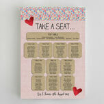 Country Textiles Wedding Seating Plan additional 2