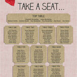 Country Textiles Wedding Seating Plan additional 3