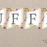 Elegant Floral Bunting additional 2