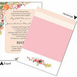 Elegant Floral Wedding Invitation additional 3