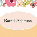 Elegant Floral Place Cards - Set of 9 additional 1