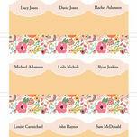 Elegant Floral Place Cards - Set of 9 additional 2