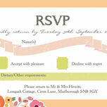 Elegant Floral RSVP additional 1