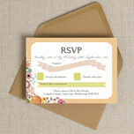 Elegant Floral RSVP additional 2