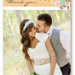 Elegant Floral Thank You Card additional 1