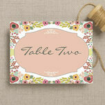 Elegant Floral Table Name additional 2