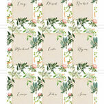 Flora Wreath Place Cards - Set of 9 additional 2