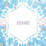 Frozen Ice Name Cards - Set of 9 additional 1