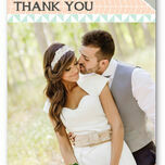 Pastel Bohemian Thank You Card additional 1