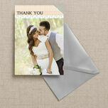 Pastel Bohemian Thank You Card additional 2
