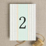 Pastel Bohemian Table Number additional 2