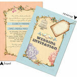 Pastel Pretty Wedding Invitation additional 3