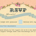 Pastel Pretty RSVP additional 1