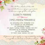 Pastel Watercolour Wedding Invitation additional 4