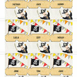Pirate Party Name Cards - Set of 9 additional 2