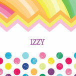 Rainbow Fiesta Name Cards - Set of 9 additional 1