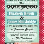 Rockabilly Retro Wedding Invitation additional 2