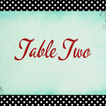 Rockabilly Retro Table Name additional 1