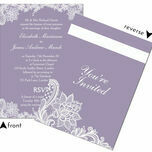 Romantic Lace Wedding Invitation additional 9