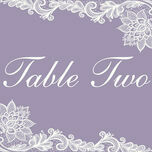 Romantic Lace Table Name additional 3