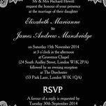 Romantic Lace Wedding Invitation additional 34